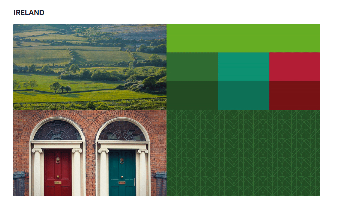uber redesign ireland mood board